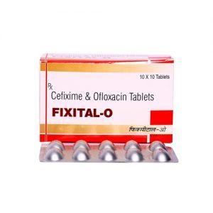 Ceflixime & Ofloxacin Tablets
