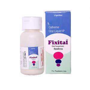 Cefixime Oral Liquid IP