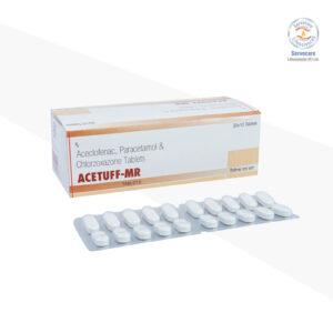 Aceclofenac 100mg + Paracetamol 325mg Tablet