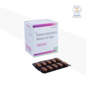 Drotaverine 80mg + Mefanamic Acid 250mg