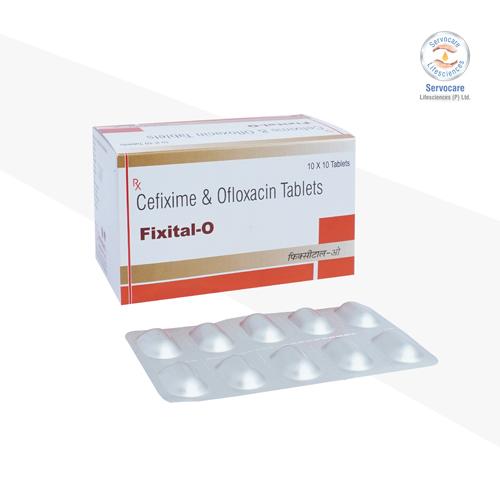 Cefixime 200mg + Ofloxacin 200mg